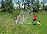 Fußballturnier mit der Partnerschule in Tschechien