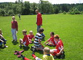 Fußballturnier in Tschechien