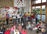 Adventssingen in der Grundschule Ruderting